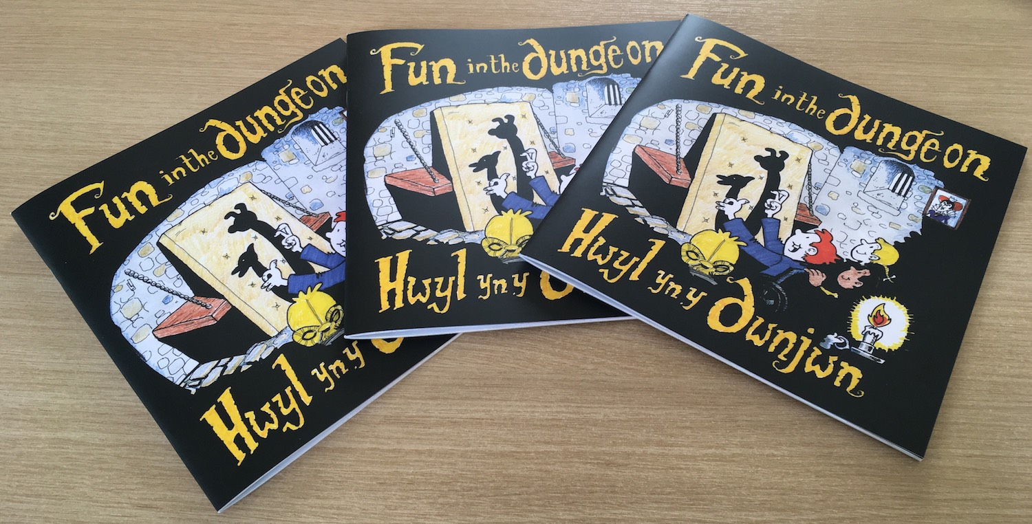 Image for Good news – 'Fun in the dungeon' storybook now available
