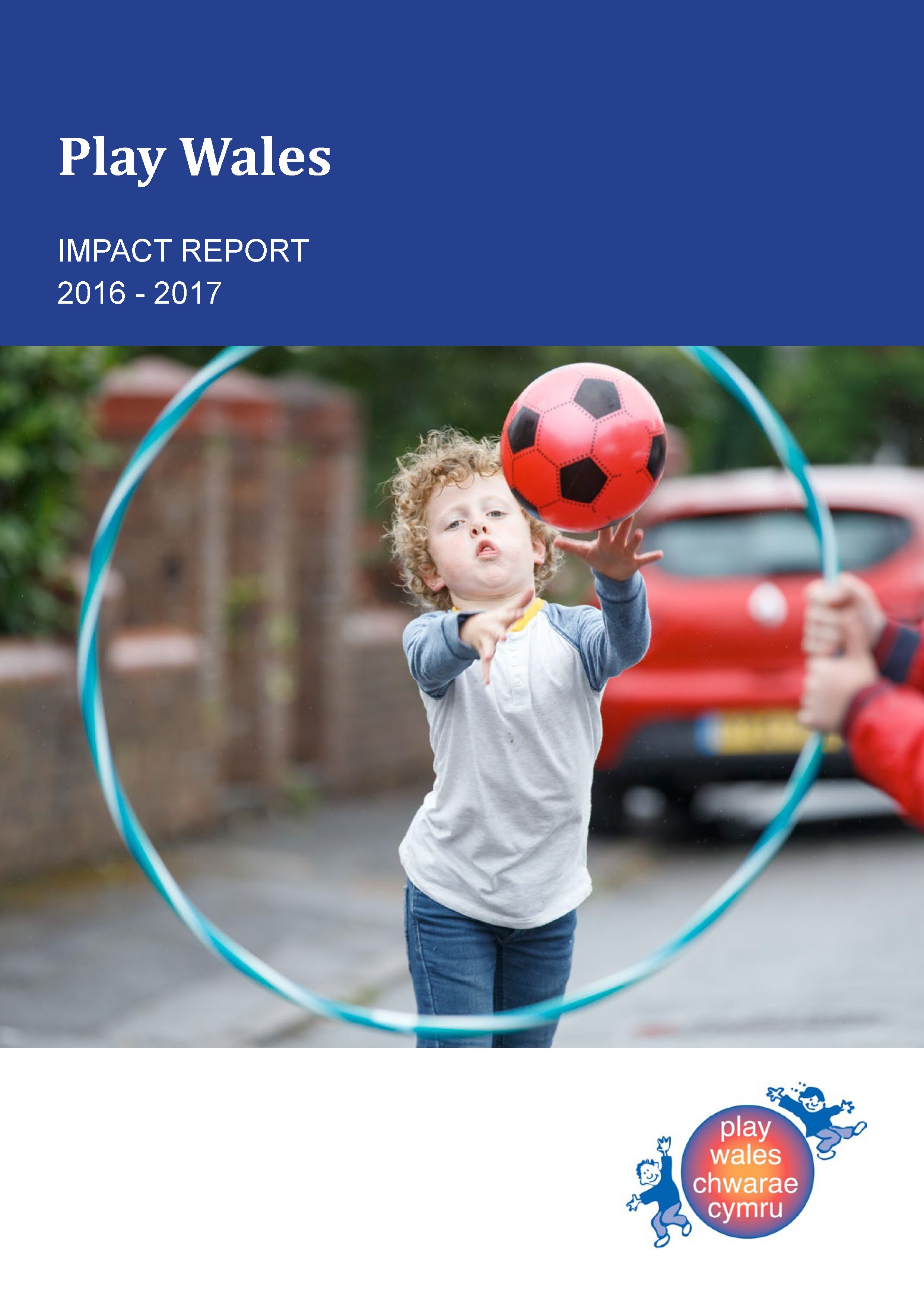 Image for Play Wales impact report 2016 – 2017